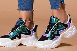 کفش اسپرت دخترانه مشکی 2020