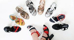 تولیدی کفش صندل زنانه